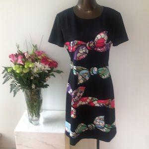 Boutique Moschino Scarf Print Shift Dress